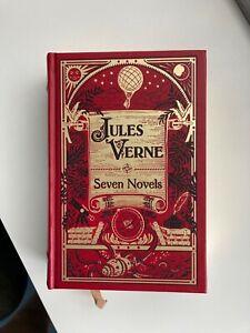 Jules Verne - Seven Novels (Prachtausgabe Barnes & Noble)