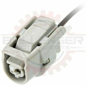 1 Way Coolant / Knock Sensor Connector Plug Pigtail for Toyota # 90980-11428