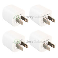 4 USB Travel Battery Wall Charger Mini for Apple iPhone / Android Cell Phone