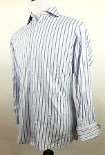 John W Nordstrom Mens Striped French Cuff Dress Shirt Tailored Fit 15.5-32 EUC