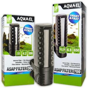 Aquael ASAP 300 500 700 Internal Aquarium & Terrarium Filters Fish Tank
