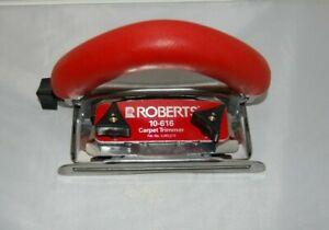 ROBERTS Conventional Carpet Trimmer 5 Position Non-slip Handle 10-616
