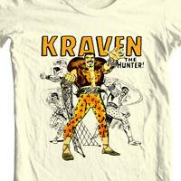 Kraven Hunter T-shirt retro comic villain marvel comics sinister six graphic tee