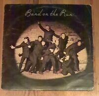 Paul McCartney And Wings – Band On The Run Vinyl LP Album 33rpm 1973 PAS10007