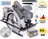 Handkreissäge Kreissäge mit Laser Sägeblatt 185 mm 2200W Säge 65mm Schnitttiefe