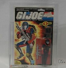 GI JOE 1986 Cobra Viper MOC Mint on card Sealed Graded AFA 80 Series 5 36 back