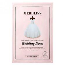 Merbliss Wedding Dress Intense Hydration Coating Nude Seal Mask 5pcs NIB KBeauty
