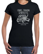 289 Camel Towing womens T-shirt funny rude vulgar tow company trucking vintage