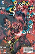 SUPERMAN UNCHAINED #7 (2014) DC 52 COMICS SCOTT SNYDER! JIM LEE ART! NM