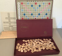 VTG. SELCHOW & RIGHTER CO. 1973 SCRABBLE GAME - COMPLETE