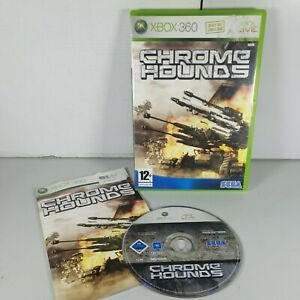 Chromehounds Xbox 360 Action Video Game Manual PAL