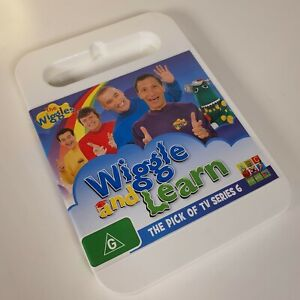 THE WIGGLES - Wiggle And Learn (Best of Series 6) DVD ABC For Kids Exc Cond!