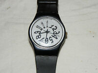 SWATCH STANDARD DAMEN BLACK NIGHT LB127 ARMBANDUHR UHR