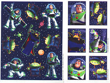BUZZ Lightyear Toy Story Stickers!  Disney  2 Sheets!