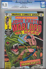 John Carter, Warlord of Mars #4 CGC 9.2  NM  1977 Marvel Comic