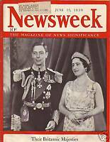 1939 Newsweek June 12 - Germany bans sale of Bibles