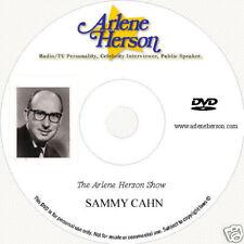 Sammy Cahn 2 part TV  Interview (1 hour)  DVD