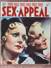 PARIS SEX APPEAL N°52 (nov 1937) Retour à l'amour mouillé - Vienne, carrefour
