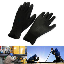 New Multi Purpose PU Palm Coated Protective Anti Static Nylon Safety Work Gloves