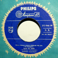 "JOHNNY HALLYDAY  7"" SAM'DI SOIR -  OST LE PARIGINE - ITALY 1962 retiens la nuit"