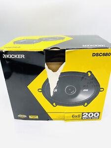 Kicker Signature High Performance Speakers DSC 680 6x8 200 Watts Fits Ford