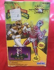 MMPR Power Rangers Power Punch Out Rock Em Sock Em Lord Zedd White Ranger Empire