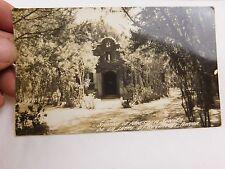 Early RPPC Shrine Nuestra Senora De La Leche St Augustine Vintage Postcard P29