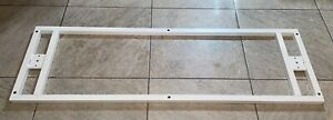 """IKEA Bekant Underframe Frame ONLY White 57 1/2"""" x 18 1/8"""" Article #902.529.08"""
