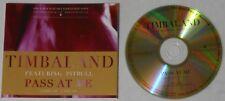 Timbaland Pitbull  Pass At Me  2011 U.S. promo cd