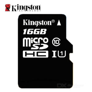 Kingston - Mikro SD 16GB (Klasse 10)
