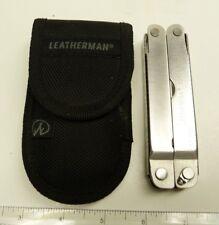 LEATHERMAN FOLDING MULTI TOOL POCKET KNIFE: SUPER TOOL & NYLON CASE -B26#3