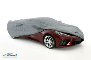 Coverking Triguard Tailored Car Cover for Chevy Corvette C8 - Made to Order
