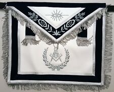 Masonic Apron Master Mason Navy Freemason US Seller