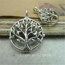"""30pc  Tibetan Silver """"Tree Of Life"""" Pendant Charms Bead  Accessories   G164Y"""