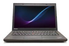 "Lenovo ThinkPad T440 14"" Intel i5 8 GB RAM 500 GB HDD WiFi Win 10 B Grade Laptop"