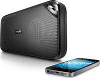 Philips BT3500B/37 Bluetooth NFC Wireless Portable Speaker with Mic- Black