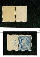 Scott 515 .20 Ben Franklin Stamp Mh With Serial Number 6161K