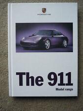PORSCHE 911 (996) PRESTIGE HARDBACK BROCHURE 1999 MY  jm
