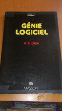 M. Thorin - Génie logiciel - Masson (1984)