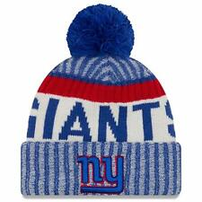 0ab0da03c8ecef New York NY Giants NFL New Era Sideline Hat Knit Beanie - One Size Fits All