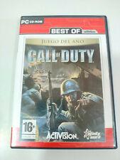 Call of Duty Juego del Año Activision - Juego para PC 2 x CD-Rom España - 3T