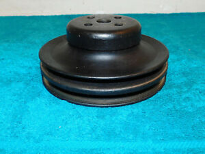 1966-1970 Ford Mustang Shelby Cougar 289 302 351W 390 428 A/C WATER PUMP PULLEY