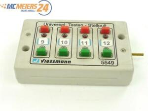 E160 Viessmann 5549 Universal-Tasten-Stellpult / rückmeldefähig 2-begriffig