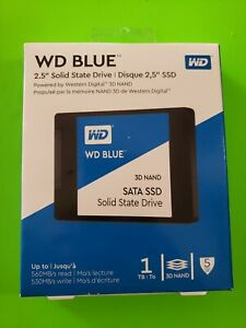 WD Blue 1TB 3D NAND SATA III 2.5 in. Internal SSD BRAND NEW - FREE SHIPPING