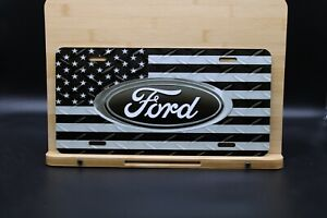 Ford USA Custom License Plate - Custom Car Tag - Personalized License Plate