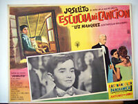 ALL CIRCUS /ESCUCHA MI CANCION/JOSELITO LUZ/1959/MEXICAN LOBBY CARD/ANTONIO DEL