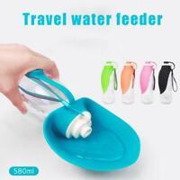 Portable Dog Cat Water Bottle Pet Dispenser Drinking Bowl Feeder Travel Outdoor