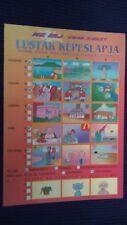 Lustige Großformat Urlaubskarte aus Ungarn Plattensee Balaton gelaufen 1998 gf4