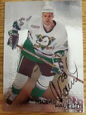 1999-00 BAP Millennium Autographs #4 Niclas Havelid