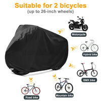 Waterproof Outdoor Bicycle Cover Oxford Fabric Rain Sun UV Dust Wind Proof US